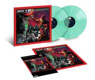 Genius Gza Liquid Swords Marvel Reissue 2 Lp Seaglass Vinyl Explicit Version