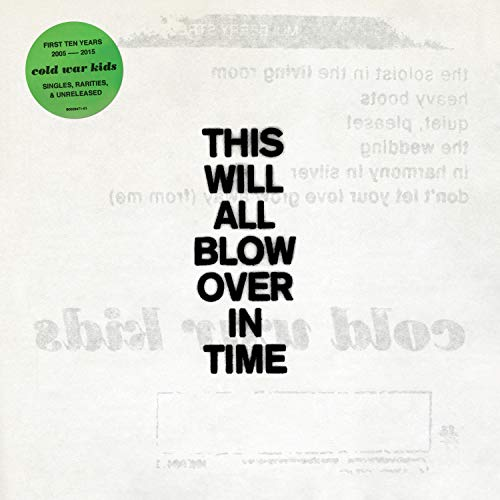 Cold War Kids This Will All Blow Over In Time 2 CD