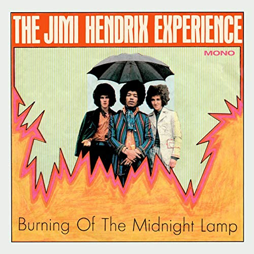 The Jimi Hendrix Experience Burning Of The Midnight Lamp Mono Ep Transparent Orange Crush Vinyl Numbered Rsd Black Friday 2018