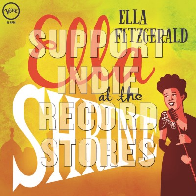 Ella Fitzgerald Ella At The Shrine Translucent Yellow Vinyl Rsd Black Friday 2018