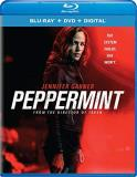 Peppermint Garner Ortiz Gallagher Blu Ray DVD Dc R