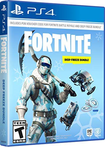 Ps4 Fortnite Deep Freeze Bundle**code Only No Disc**