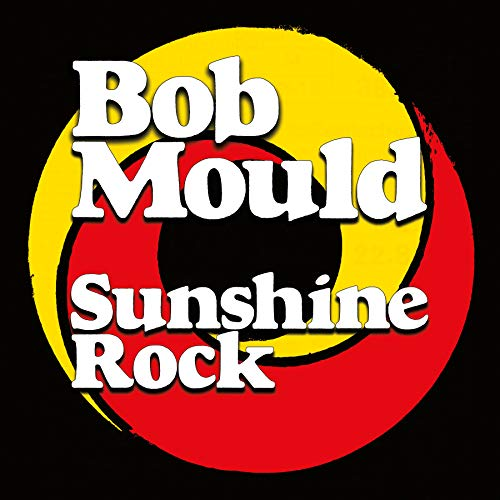 Bob Mould Sunshine Rock Peak Vinyl Opaque Yello & Red Swirl Single Lp With Euro Sleeve. Includes Coupon For Fu