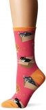 Socks Womens Crew Cat In A Box