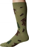 Socks Mens Crew Bigfoot Moss