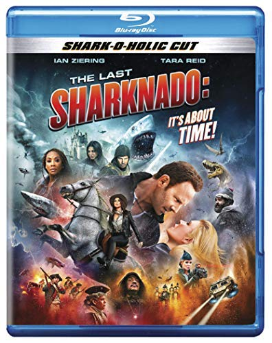 The Last Sharknado It's About Time Ziering Reid Scerbo Blu Ray Tv14