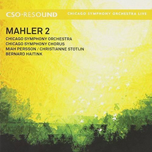 G. Mahler Sym 2 Persson Stotijn Haitink Chicago So