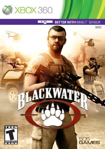 Xbox 360 Kinect Blackwater 505 Games M