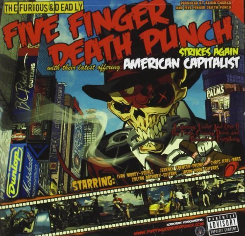Five Finger Death Punch American Capitalist Explicit Version