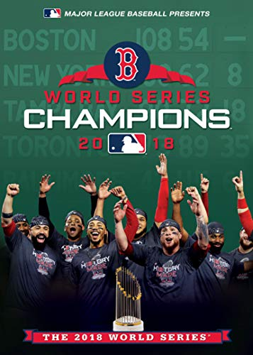Boston Red Sox 2018 World Series Champions DVD Standard Edition