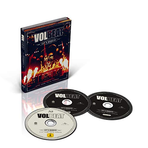 Volbeat Let's Boogie! (live From Telia Parken) Blu Ray 2cd