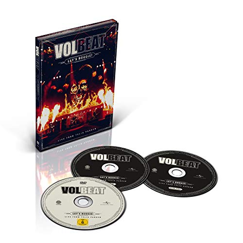 Volbeat Let's Boogie! (live From Telia Parken) DVD 2cd