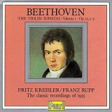 Beethoven Violin Sonatas Vol. 1 [uk Import]