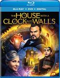 House With A Clock In Its Walls Black Blanchett Vaccaro Blu Ray DVD Dc Pg