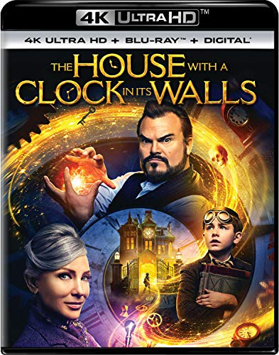 House With A Clock In Its Walls Black Blanchett Vaccaro 4khd Pg