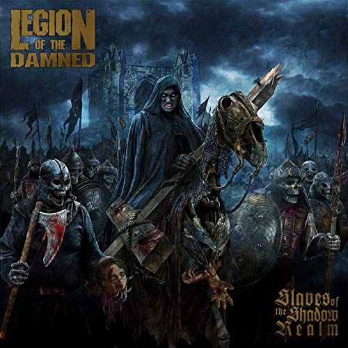 Legion Of The Damned Slaves Of The Shadow Realm Cd+dvd Mediabook