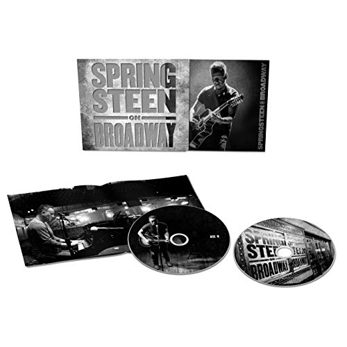 Bruce Springsteen Springsteen On Broadway 2 Cds In Standard Sized Soft Pak With Clear Plastic O Card