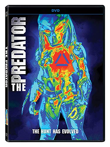 Predator (2018) Holbrook Rhodes Tremblay Key Munn Brown Jane DVD R