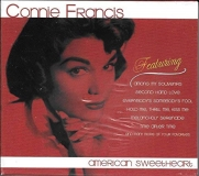 Connie Francis Connie Francis American Sweetheart