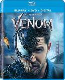 Venom Hardy Williams Blu Ray DVD Dc Pg13