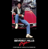 "Beverly Hills Cop Soundtrack (yellow & White Swirl Vinyl) Harold Faltermeyer Limited Edition ""banana Swirl"" 140 Gram Colored Vinyl (yellow & White Swirl)"