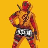 Deadpool 2 Score (red W Black Stripe) Tyler Bates Lp