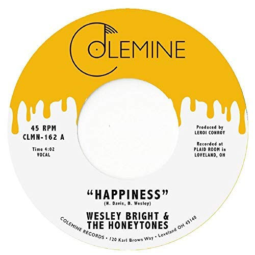 wesley-bright-the-honeytones-happiness-you-dont-want-me-honey-yellow-vinyl-honey-yellow-vinyl