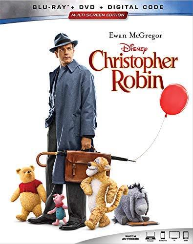 Christopher Robin/McGregor/Atwell/Carmichael@Blu-Ray/DVD/DC@PG