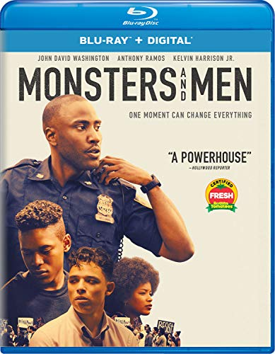 Monsters & Men Washington Ramos Harrison Adams Blu Ray Dc R