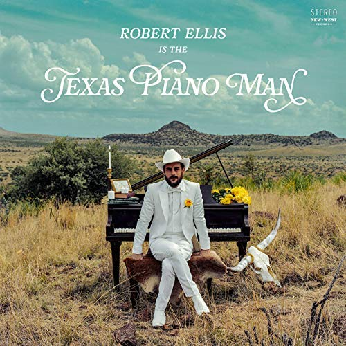 Robert Ellis Texas Piano Man 150g Sky Blue Vinyl