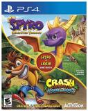 Ps4 Spyro + Crash Bundle (spyro Reignited Crash N Sane)