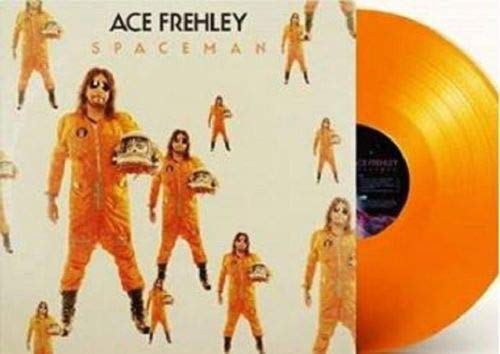 Ace Frehley Spaceman Orange Vinyl Indie Exclusvie
