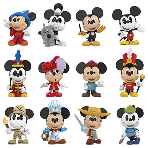 Mystery Minis Mickey Mouse 90th Anniversary Window Box 12 Display
