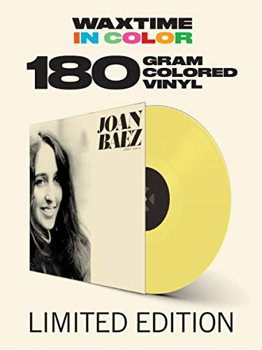 Joan Baez Joan Baez (yellow Vinyl) Lp