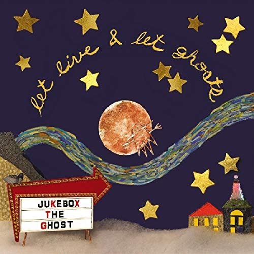 Jukebox The Ghost Let Live & Let Ghosts (moon Colored Vinyl) Moon Colored Vinyl With Glitter On Cover Download Card Included (10th Anniversary Edition) Ltd To 350
