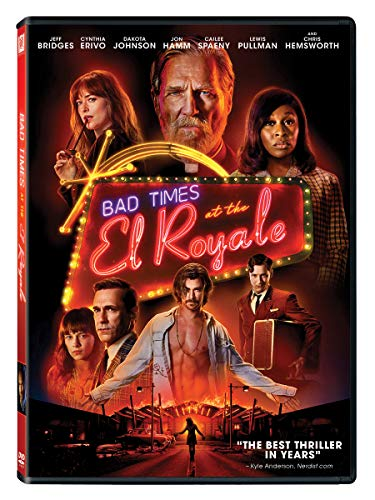 Bad Times At The El Royale Bridges Erivo Johnson Hamm Hemsworth DVD R
