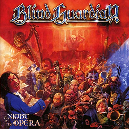 Blind Guardian A Night At The Opera (remixed 2011 Remastered 2012 Transparent Orange Vinyl)
