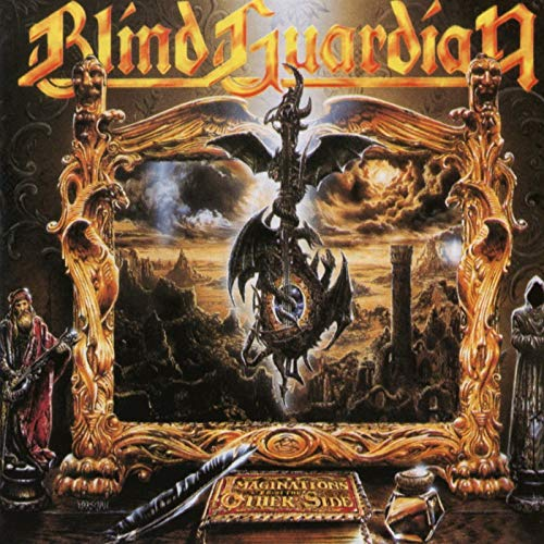 Blind Guardian Imaginations From The Other Side (remixed Remastered 2012 Opaque Orange Vinyl)