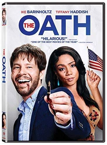 The Oath Haddish Barinholtz DVD R