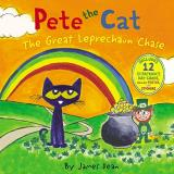 James Dean Pete The Cat The Great Leprechaun Chase Includes 12 St. Patri