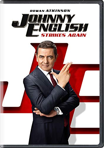Johnny English Strikes Again Atkinson Miller Kurylenko DVD Pg