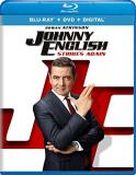 Johnny English Strikes Again Atkinson Miller Kurylenko Blu Ray DVD Dc Pg