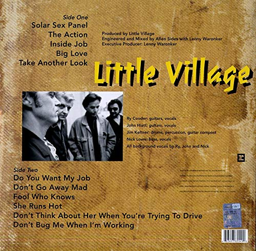 Little Village Little Village (blue Vinyl) Syeor Exclusive 2019