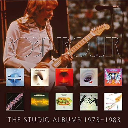 Robin Trower The Studio Albums 1973 1983