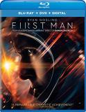 First Man Gosling Foy Blu Ray DVD Dc Pg13