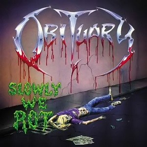 Obituary Slowly We Rot (yellow & Green Vinyl) Limited Solid Yellow & Transparent Green Mixed 180g Vinyl Ltd To 2000