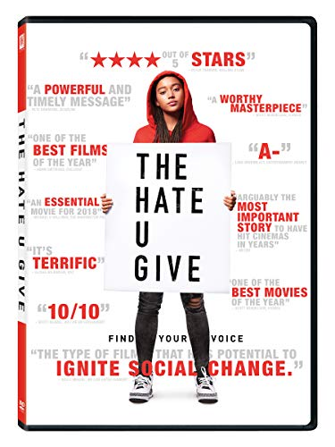 Hate U Give Stenberg Hall DVD Pg13