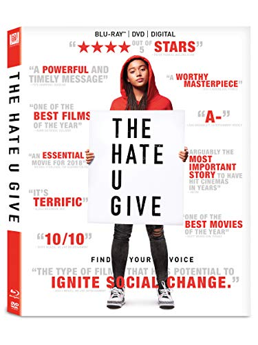 Hate U Give Stenberg Hall Blu Ray Pg13