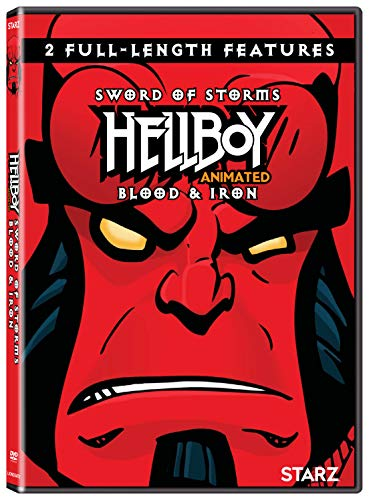 Hellboy Animated Sword Of Storms Blood & Iron DVD Nr