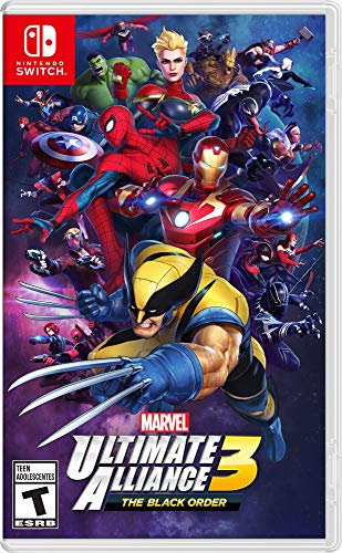 Nintendo Switch Marvel Ultimate Alliance 3 The Black Order